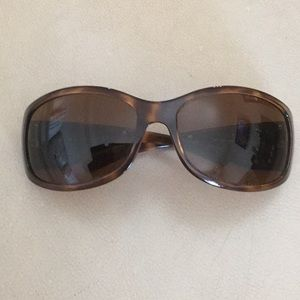 Prada tortoise shell sunglasses